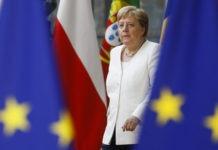 nella foto la cancelliera tedesca Angela Merkel