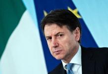 Conferenza Stampa Gisueppe Conte Roma
